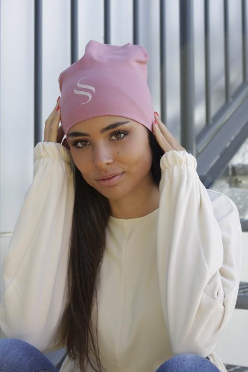 Dámska bavlnená čiapka -...