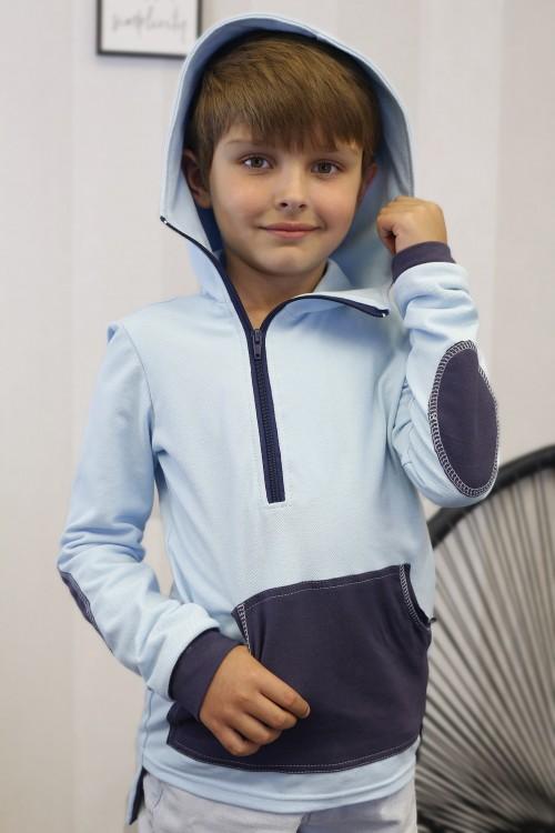 Chlapčenská mikina Samo/modrá