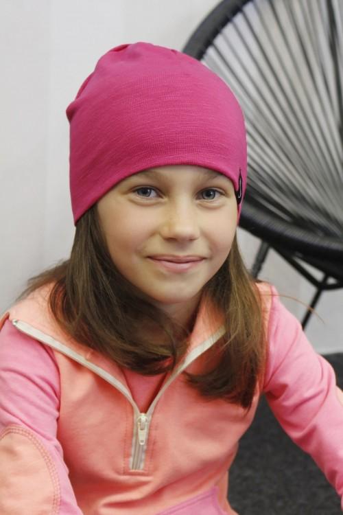 Detská čiapka Kame/ružová
