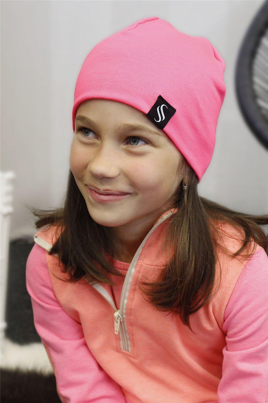 Detská čiapka Pastel/ružová