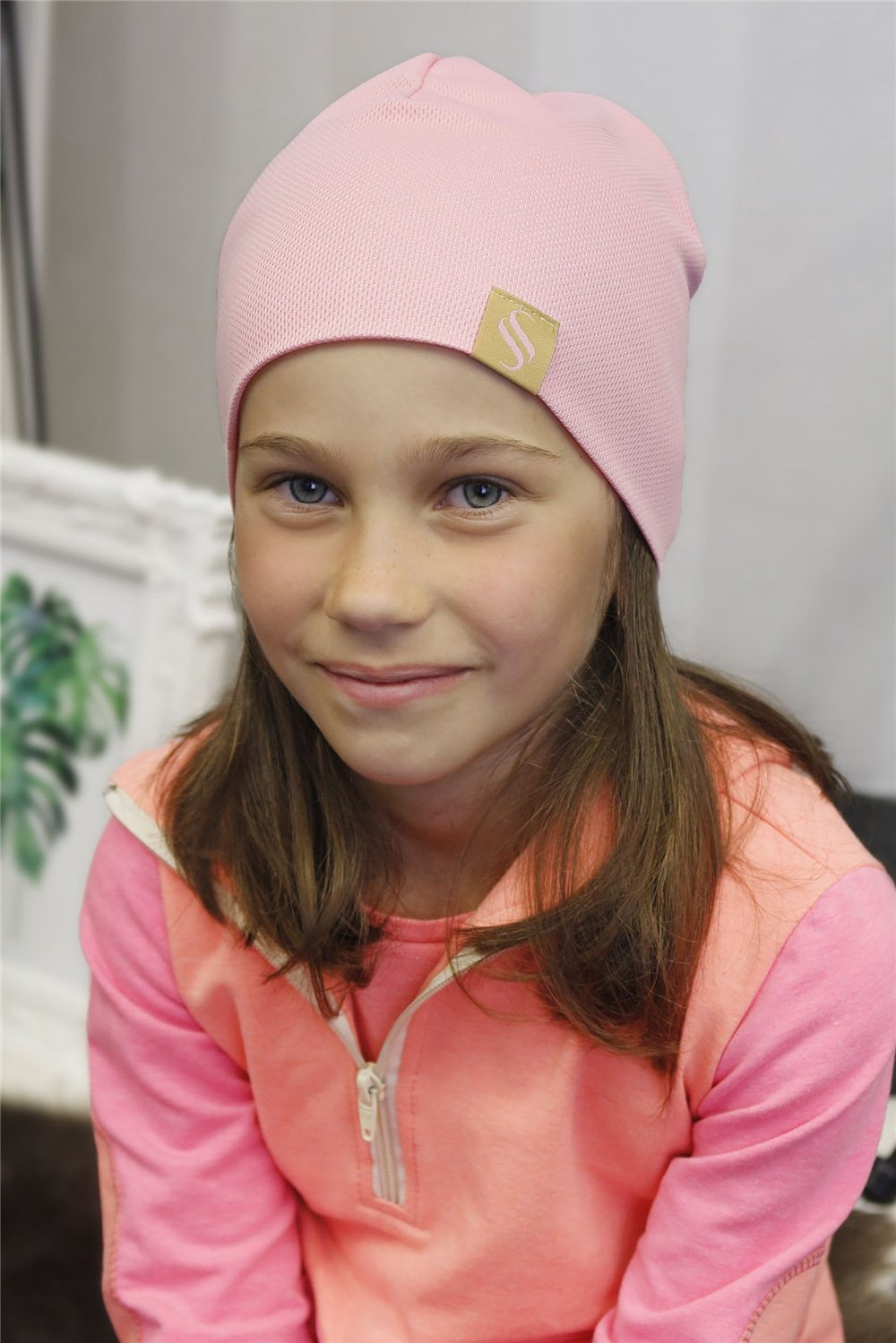 Detská čiapka Oli/ružová