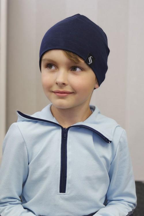 Detská čiapka Kame/tmavomodrá