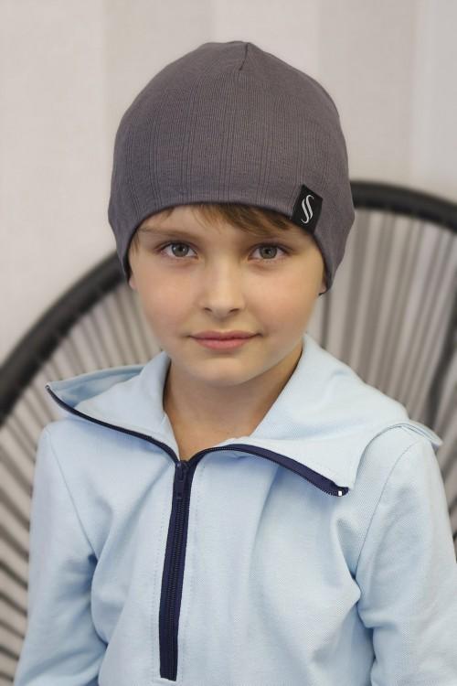 Detská čiapka Akai/šedá