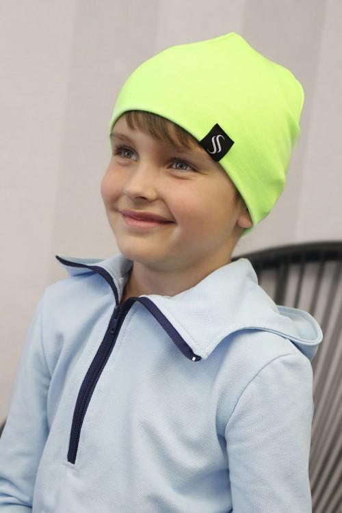 Detská čiapka Oli/zelená