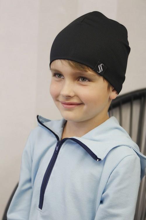 Detská čiapka Akai/čierna
