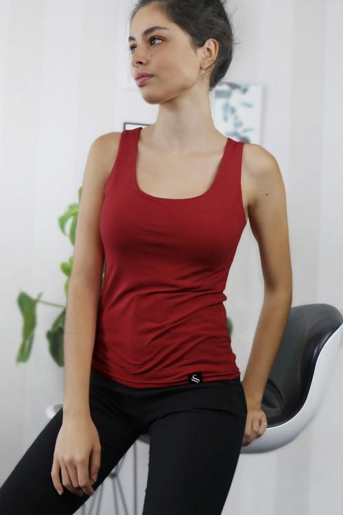 Top Zara/červená