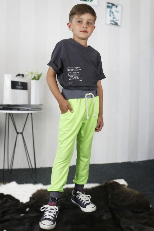 Detské tepláky Ross/zelené