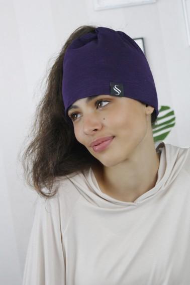 Čiapka Kame/ fialová