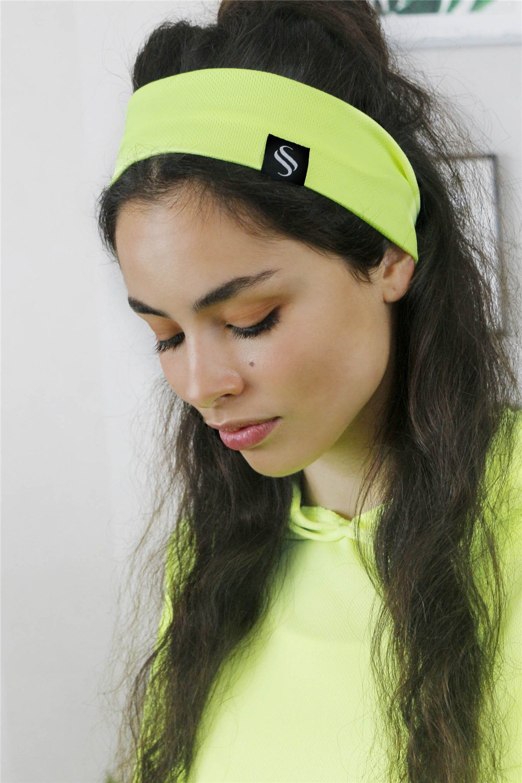 Čelenka Oli/ neon žltá
