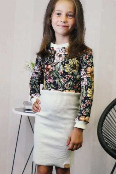 Dievčenské šaty Milaga
