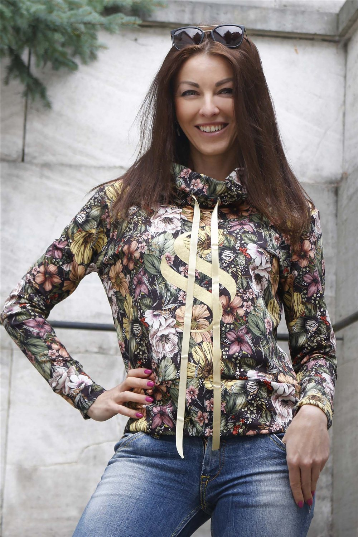 Mikina Selena-zlatá