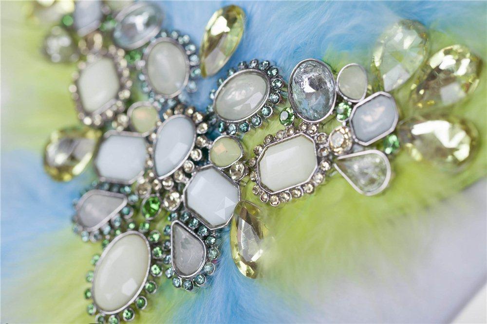 Náušnice elegant modré