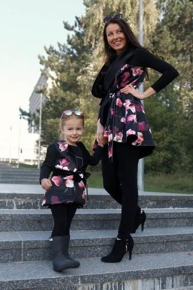 """Set """"mama a dcéra"""" vestičky / magnólia"""