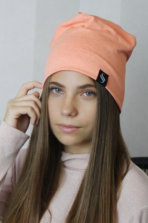 Dámska čiapka Pastel - marhuľková
