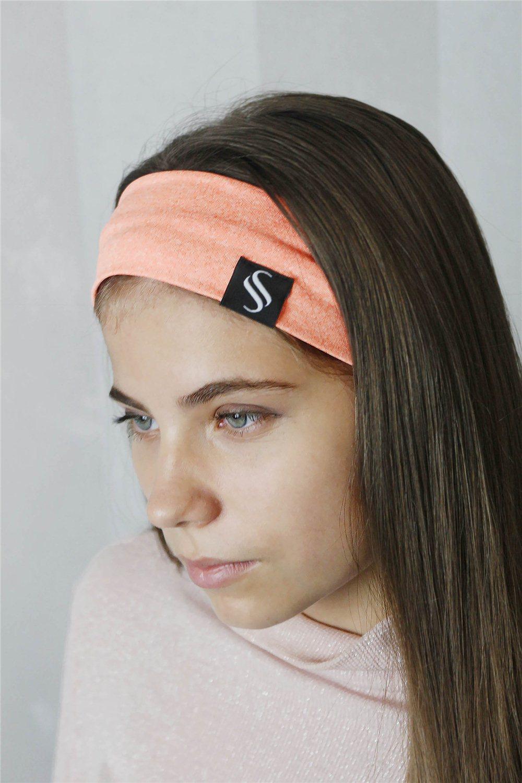 Športová čelenka Pastel - marhuľková