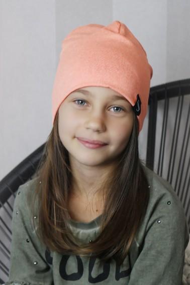Detská čiapka Pastel - marhuľková