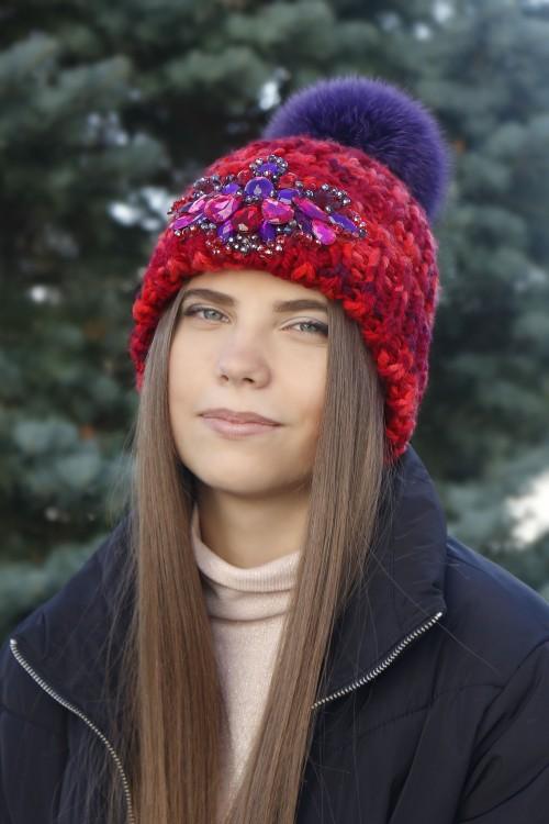 Zimná čiapka s bmrbocom - Tesa